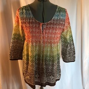 Ladies Boho style blouse